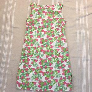 Lilly Pulitzer Strawberry Print Shift Dress